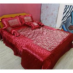 Gold Print Complete Double Bed Sets Of 8 Piece Wholesale Bedding