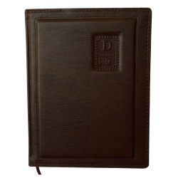 Brown foamed executive diary