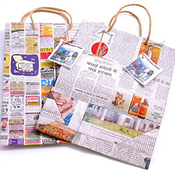 Newspaper Bags With Handle Online